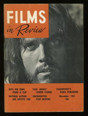 Films in Review (November 1961) [cover: Jeffrey Hunter in KING OF KINGS]