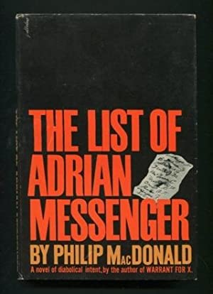 The List of Adrian Messenger: MacDonald, Philip