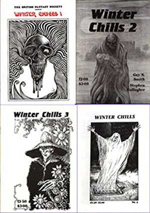 WINTER CHILLS #1 thru #4, 1987-1990.: Coleborn, Peter, ed.