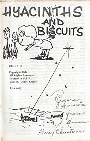 HYACINTHS AND BISCUITS 10, 1974: Card, Jane R.