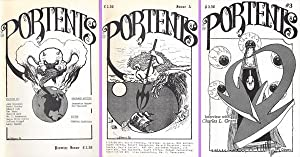 PORTENTS Premier Issue, Issue 2, and Issue 3, 1986: Hopper, Jeannette (editor)