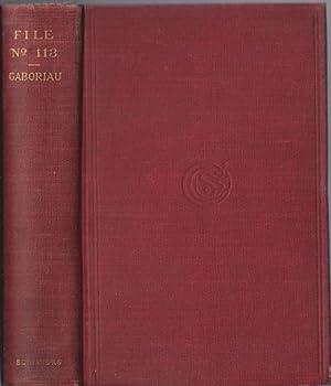 FILE No 113: Gaboriau, Emile (1832-1973)