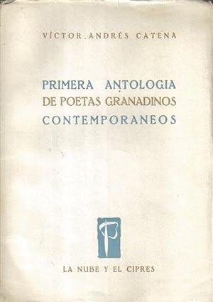 Primera antología de poetas granadinos contemporáneos: Víctor Andrés Catena.
