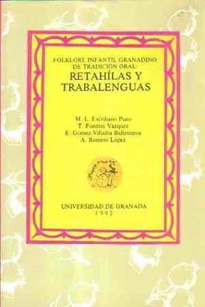 Folklore Infantil Granadino de Tradición Oral: Retahílas: M. L Escribano