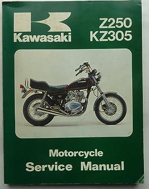 Kawasaki Z250 KZ305 Motorcycle Service Manual: Anon