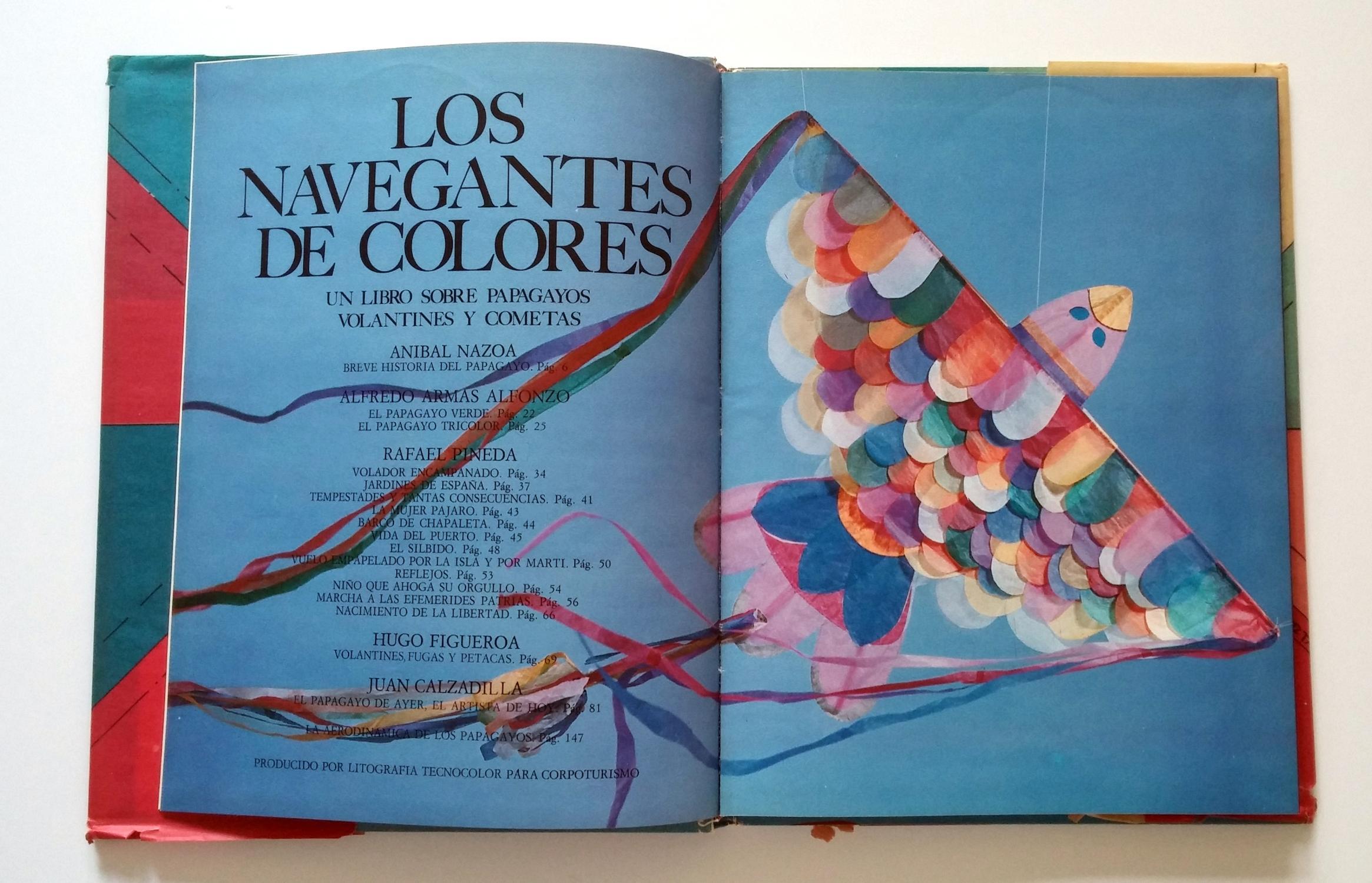 Los Navegantes De Colores - Un Libro Sobre Papagayos, Volantines y ...