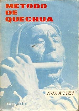 Método De Quechua Runa Simi: Marcelo Grondin S.