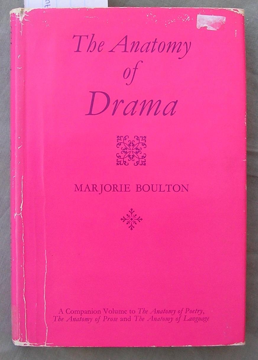 Anatomy Drama by Boulton Marjorie - AbeBooks
