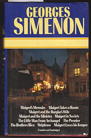 Maigret's Memoirs, Maigret Takes A Room, Maigret: Simenon, Georges