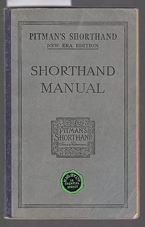 Pitman's Shorthand Manual - Being Part 1: Pitman, Isaac