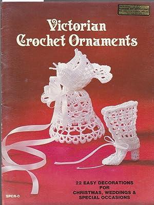 Victorian Crochet Ornaments: Peach, Sandra
