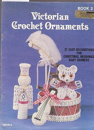 Victorian Crochet Ornaments Book 2: Peach, Sandra