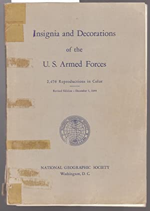 Insignia and Decorations of the U.S. Armed: National Geographic Society