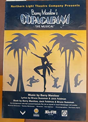 Barry Manilow's Copacabana - The Musical - Misical Programme