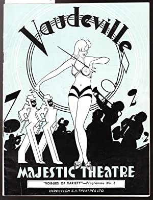 Vaudeville Majestic Theatre - Vogues of Variety Programme No. 2 1900-1940-1950 Featuring Roy Rene...