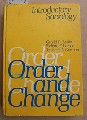 Order and Change - Introductory Sociology