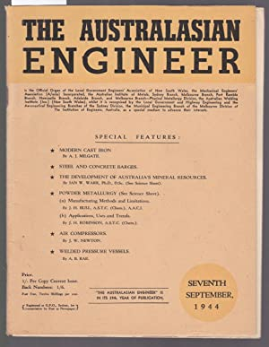 The Australiasian Engineer : September 1944: The Australiasian Engineer