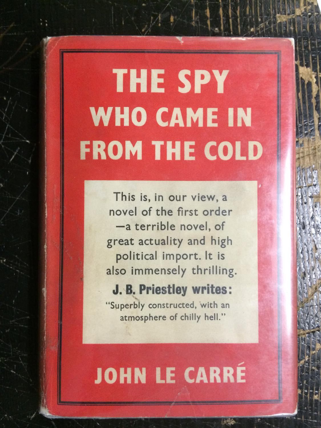The Spy Who Came in From the Cold: Le Carre (LeCarre), John