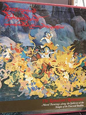 The Ramakian (Ramayana) Mural Paintings Along the Galleries of the Temple of the Emerald Buddha: ...