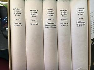 Schiller's Sämtliche Werke (5) Five Volume Set: Schiller, Friedrich