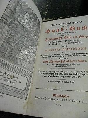 Hand Buch In Gutten Und Bufen Lagen: Johan Friedrich Stark