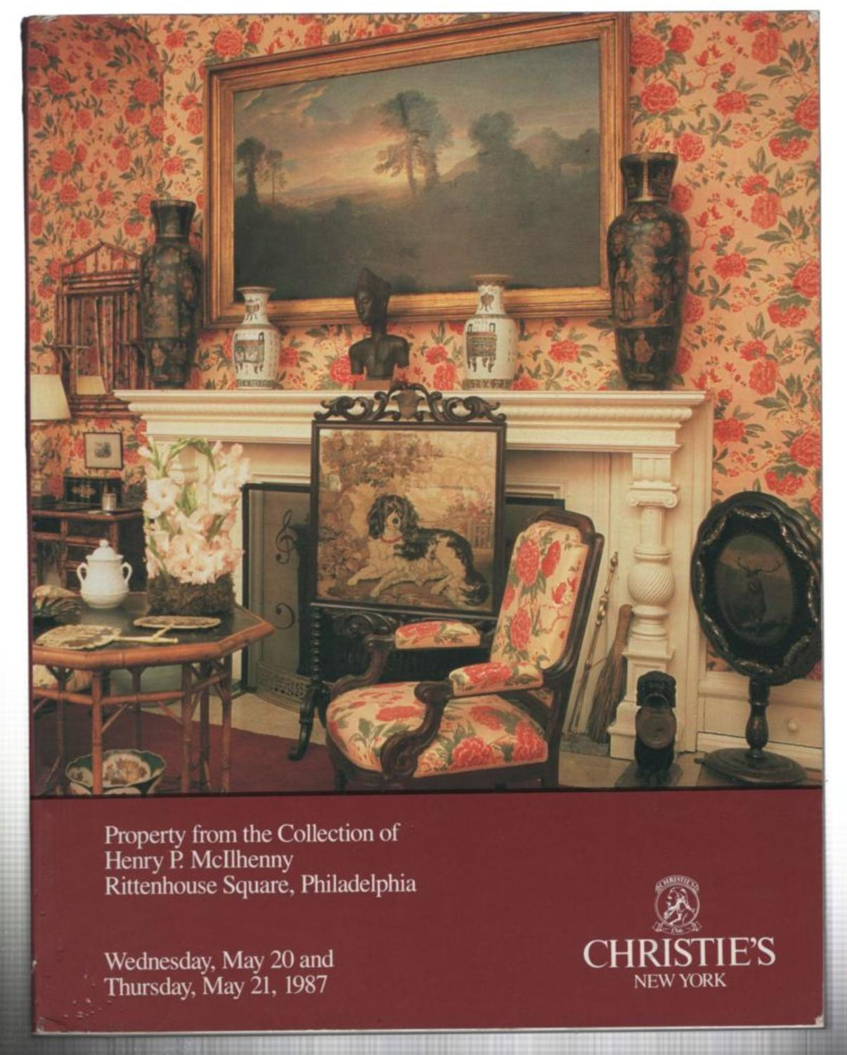 Fine French And English Furniture, Paintings, Porcelain, Decorations,  Oriental Works Of Art