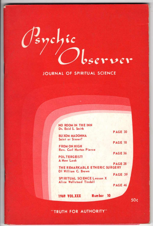 Psychic Observer: Journal of Spiritual