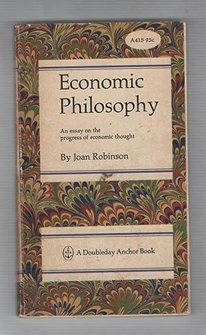 Economic phlosophies essay