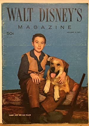 Walt Disney's Magazine: Volume III Number 1 (Tommy Kirk and Old Yeller Cover) December 1957