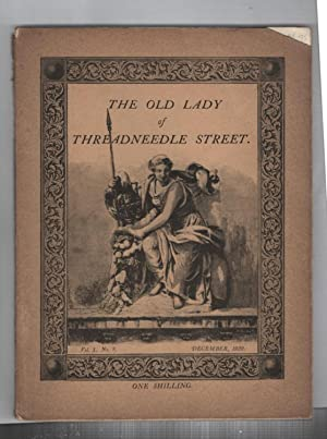 The Old Lady on Threadneedle Street : Volume 1 Number 8. December 1922