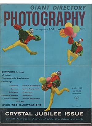 Giant Directory Photography, Crystal Jubilee Issue: Volume 30 Number 5. May, 1952