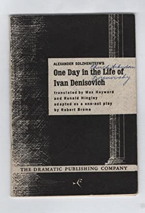 One Day in the Life of Ivan: Solzhenitsyn, Alexander;