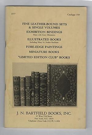 J. N. Bartfield Books Catalogue 350, 1977: Bartfield, J. N.;