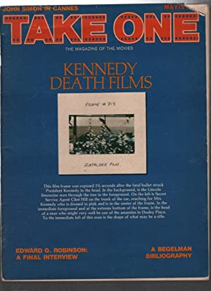 Take One; The Magazine Of The Movies; Kennedy Death Films