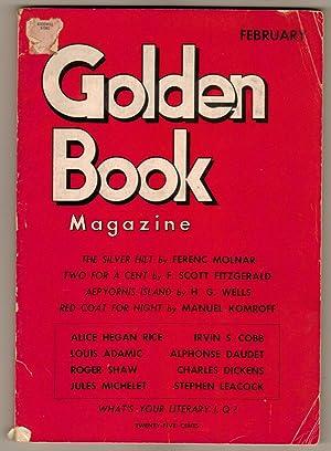 Golden Book Magazine: February 1935: Various Authors