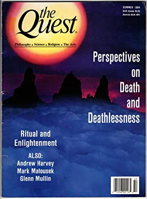 The Quest: A Quarterly Journal of Philosophy, Sciencs, Religion and the Arts Summer 1994
