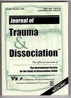 Journal of Trauma and Dissociation: The Official Journal of the International Society of Dissocia...