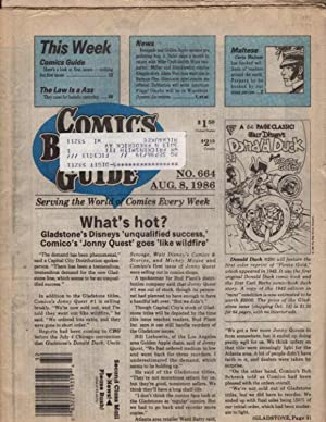 Comics Buyer's Guide Number Number 664 August 8 1986