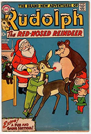 The Brand New Adventures of Rudolph the Red Nosed Reindeer 1961-1962 Issue