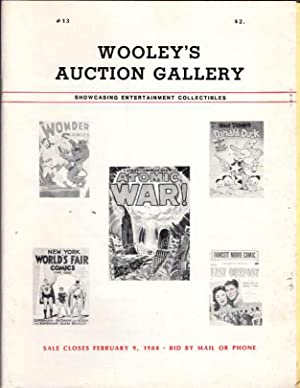 Wooley's Auction Gallery Number 13