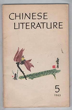 Chinese Literature Montlhy, No. 5, 1963