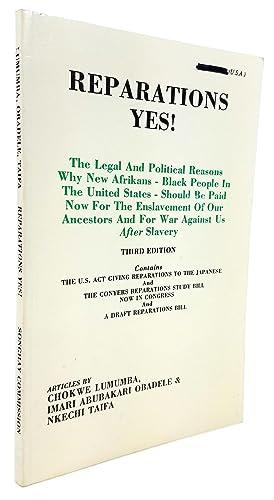 Reparations Yes! The Legal and Political Reasons: Chokwe Lumumba; Imari
