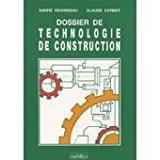 Dossier de technologie de construction : cap,: Ricordeau, André