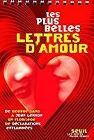 Les Plus Belles Lettres Damour