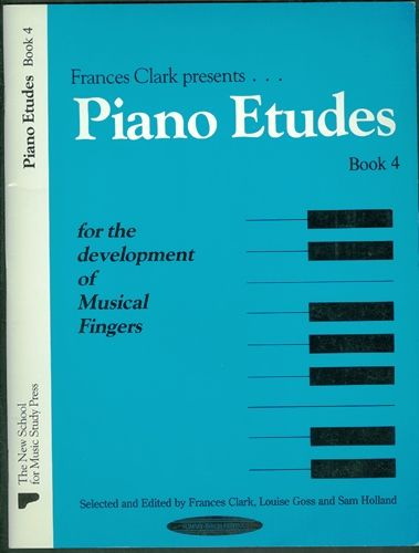 Piano Etudes Book 4: for the Development of
