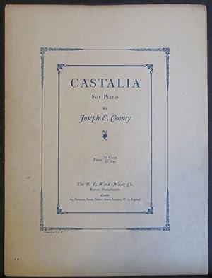 Castalia for Piano Sheet Music: Cooney, Joseph E.