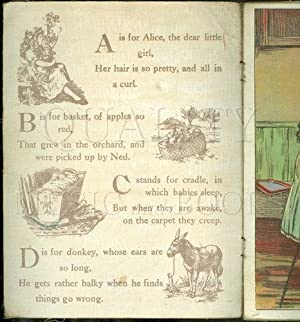Our Darling's ABC (Saalfield Linen Book 208): Saalfield Publishing Company