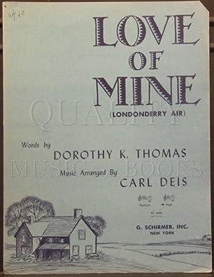 Carl Deis: Love of Mine (Londonderry Air): Deis, Carl; Thomas,