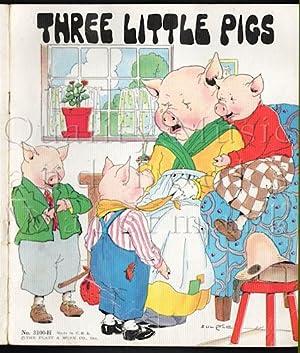 Three Little Pigs (Platt & Munk 3100-H): Banks, Eulalie [illustrator]
