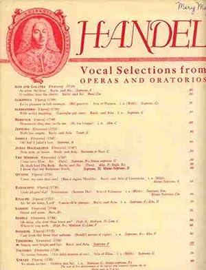 Angels, Ever Bright and Fair Recitative and: Handel, Georg Friedrich;